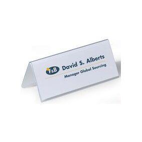 Durable Bordskilt DURABLE 150x61mm (25)
