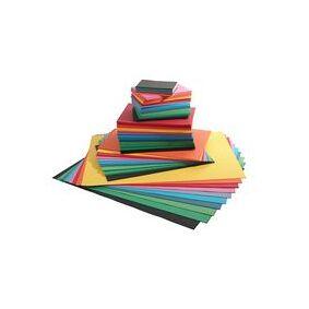 [NORDIC Brands] Farget papir 110g ass størrelser (2200)