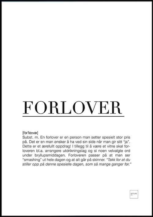 pictureit FORLOVER poster - Last ned - 199,-