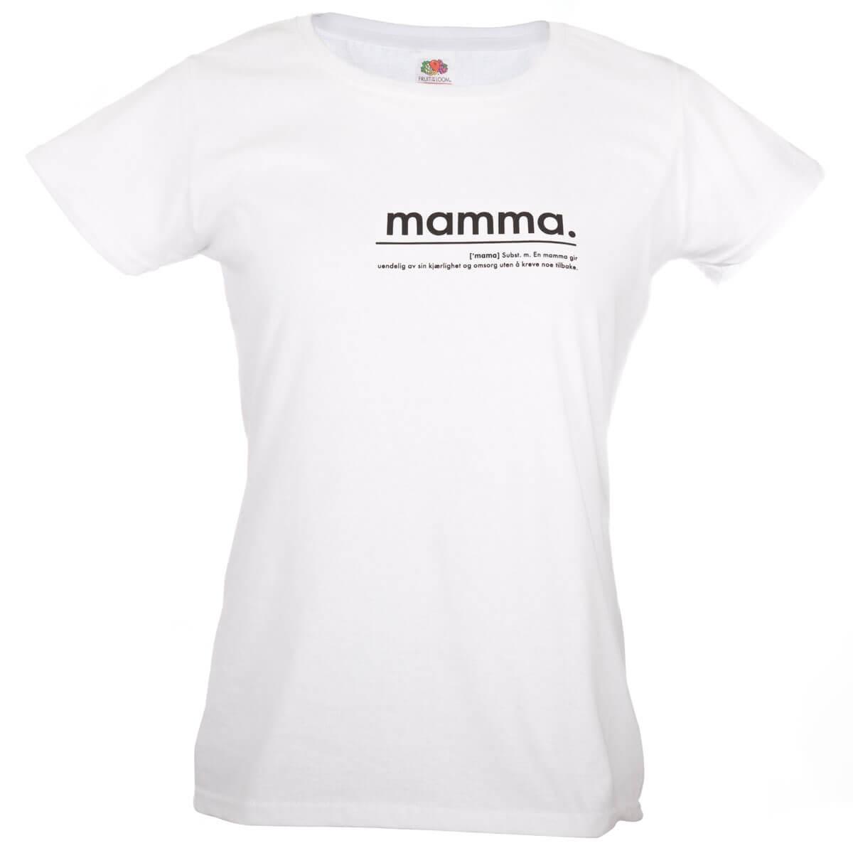 pictureit MAMMA t-skjorte - SMALL