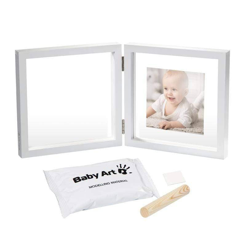 ART Baby Art Transparent with Clay Fotoramme med gipsavtryyk
