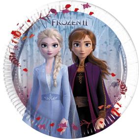 Disney Frozen 2 Papptallerkener 20cm - 8 stk