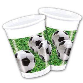 Football Fotball Kopper 8 stk Grønn - 200ml