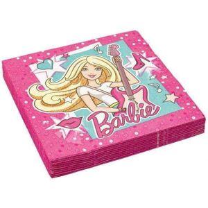 Barbie Servietter - 20 stk