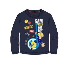 Brannmann Sam Branmann Sam T-skjorte, Navy