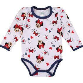 Minnie Mouse Minnie mus Baby Body, Hvit