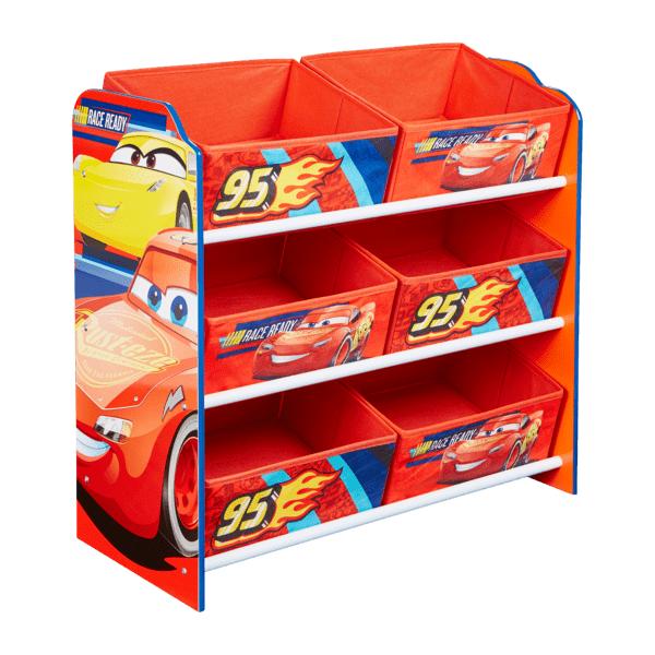 Hello Home Disney Pixar Cars Oppbevaringshylle med 6 skuffer