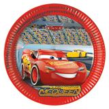 Disney Cars Papptallerkener 23cm - 8 stk