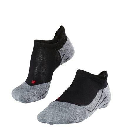 Falke RU4 Invisible Men No Show Socks Black Mix