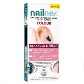 Nailner Behandle og fargelegge neglesopp 5 ml