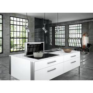 Røroshetta Røros fabula - stål / sort glass - 900MM