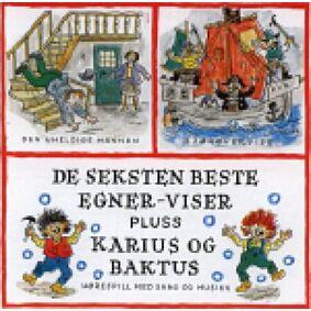 DE SEKSTEN BESTE + K&B, CD