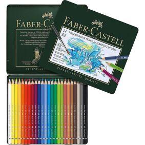 Fargeblyant Faber Akvarell 24Stk