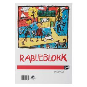 Rableblokk A4 100G 50 Blad