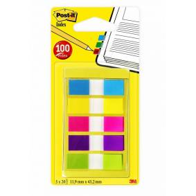 POST-IT® Index 683-5 i dispenser 5 fargr