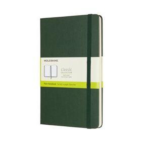Notatbok Moleskine Classic hard ulinj.: grønn 13x21 cm