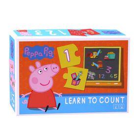 Puslespill Peppa Gris lærer tall