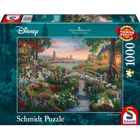 Puslespill 1000 Disney 101 Dalmatinere: Schmidt