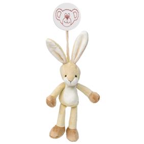 Vognleke Diinglisar med clips kanin
