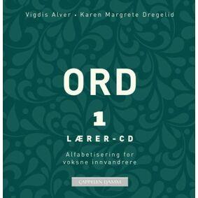 Vigdis Rosvold Alver Ord 1: lærer-CD