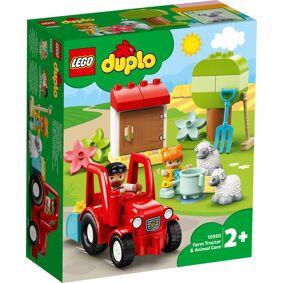 Bondegård LEGO DUPLO med traktor og dyr: Town