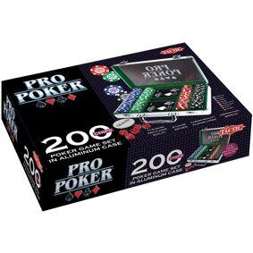 Pro poker alu koffert 200: selskapsspill