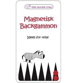 Magnetisk reisespill Backgammon