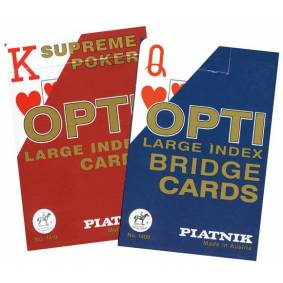 Spillkort Opti large index for svaksynte