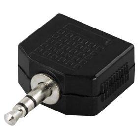 DELTACO DELTACO Y-adapter for lyd, 1 x 3,5 mm ha til 2 x 3,5 mm ho 7340004608363 Tilsvarer: N/A