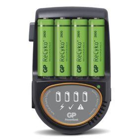 GP BATTERIES GP Batteriladdare H500 inkl 4 stk. 2600 mAh GP-H500 Tilsvarer: N/A