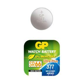 GP BATTERIES GP 377 SC1 / SR626SW GP-SR66-377 Tilsvarer: N/A