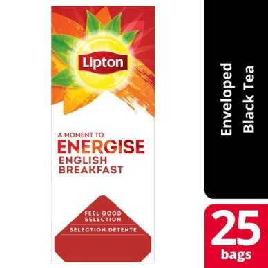 Lipton Lipton English Breakfast 25-pakk 5900300586929 Tilsvarer: N/A