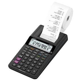 Kalkulator med rull CASIO HR-8RCE 4971850099604 Tilsvarer: N/A