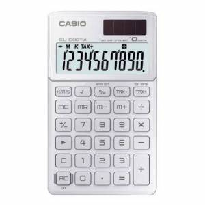 Minikalkulator Casio SL-1000SC, hvit 4971850901945 Tilsvarer: N/A