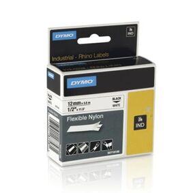Tape Rhino flex nylon 12mm svart på hvit 71701184887 Tilsvarer: N/A