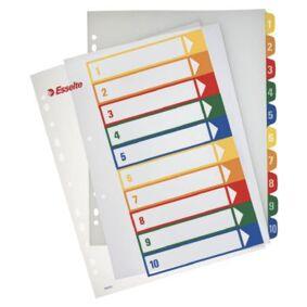 ESSELTE Register PP A4+ for PC-print 1-10 100213 Tilsvarer: N/A