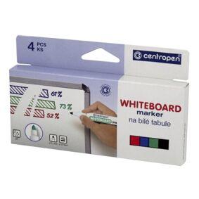Whiteboard Merkepenn rund 4 farger 7200B Tilsvarer: N/A