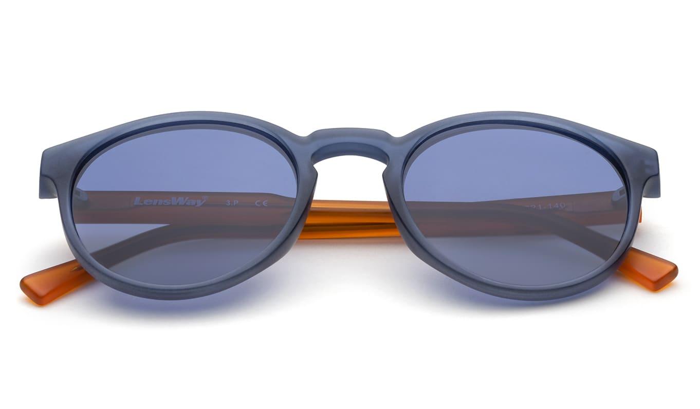 Lensway Ocean-Blue Solbriller