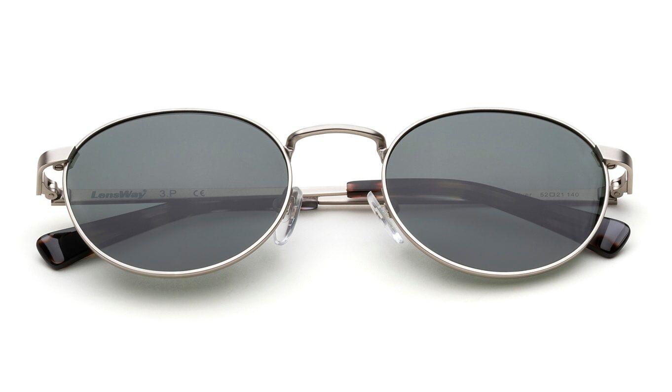 Lensway Golden light-Silver Solbriller