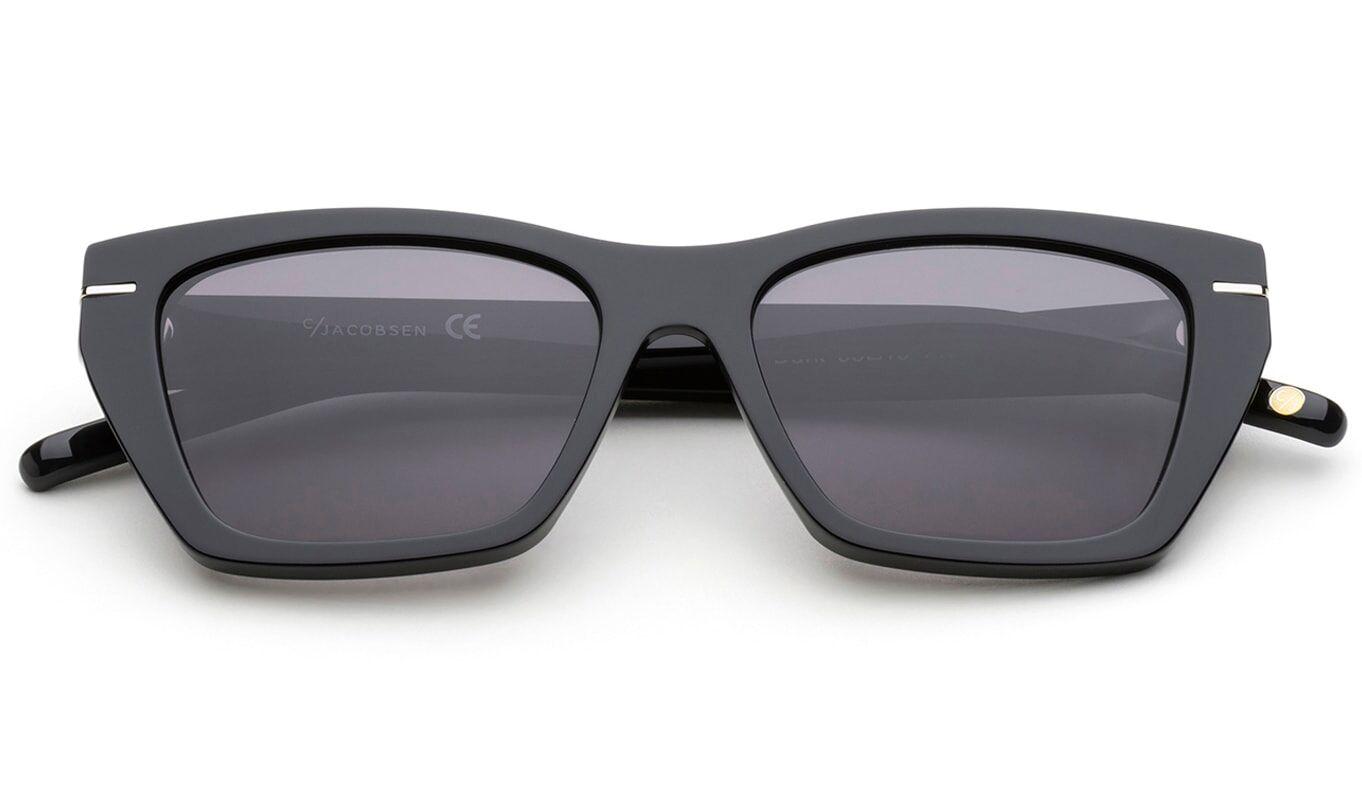 C.Jacobsen Horisont - Shiny Black Dark Solbriller