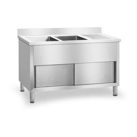 Royal Catering Dobbel kjøkkenvask - 140 cm 10010409
