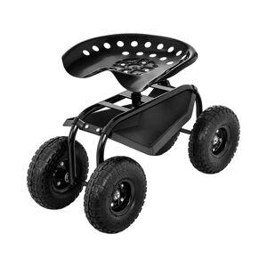 hillvert Hagesete med hjul - 150 kg