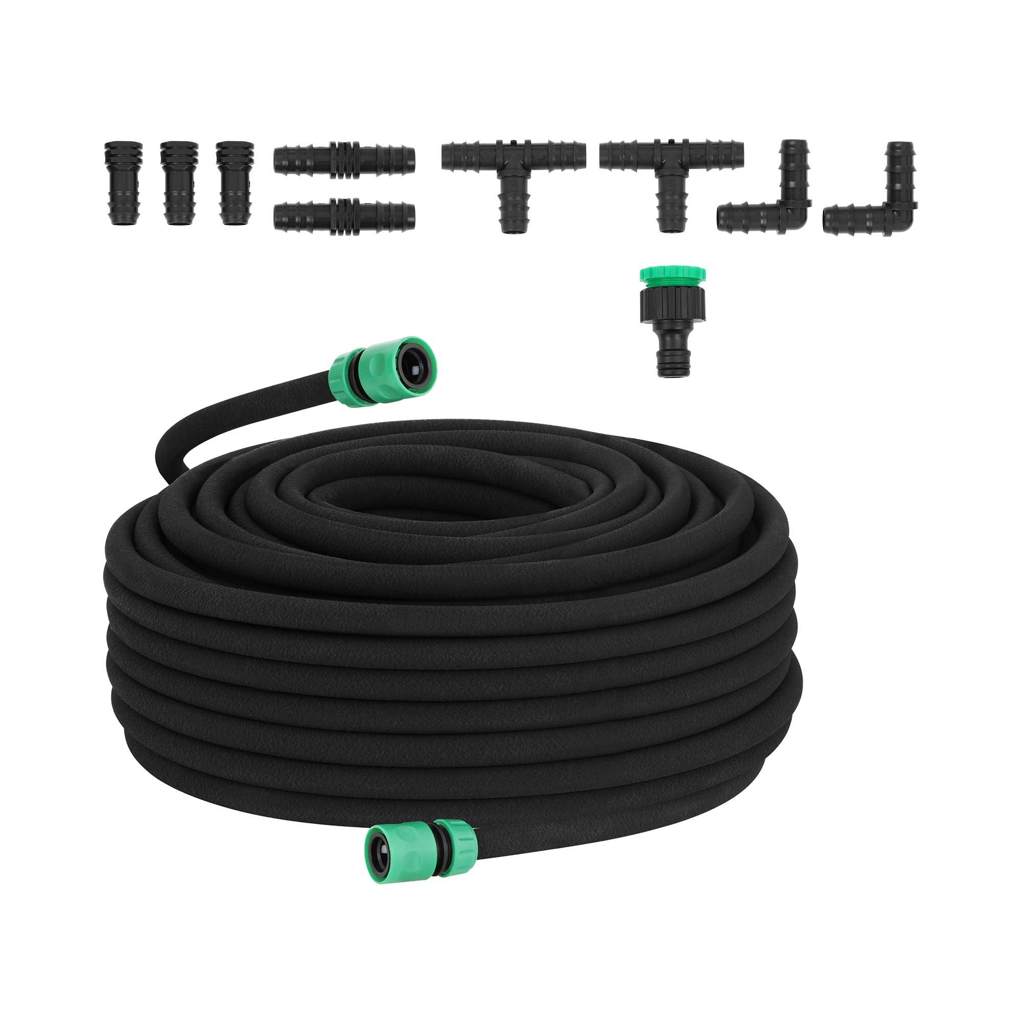 hillvert Dryppslange - 50 m + kobling