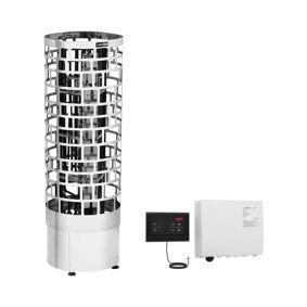 Uniprodo Badstuovn inkl. kontrollpane - 9 kW - rør - 30 to 110°C 18000479