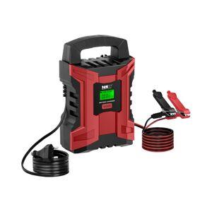 MSW Batterilader til bil - 6/12 V - 2/10 A - LCD-skjerm 10060503