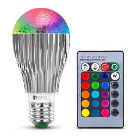 Royal Catering LED-lys med fjernkontroll - 16 fargeinnstillinger - 5 W 10011129
