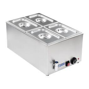 Royal Catering Bain-marie - GN-beholder - 1/4 - Tappekran 10010190