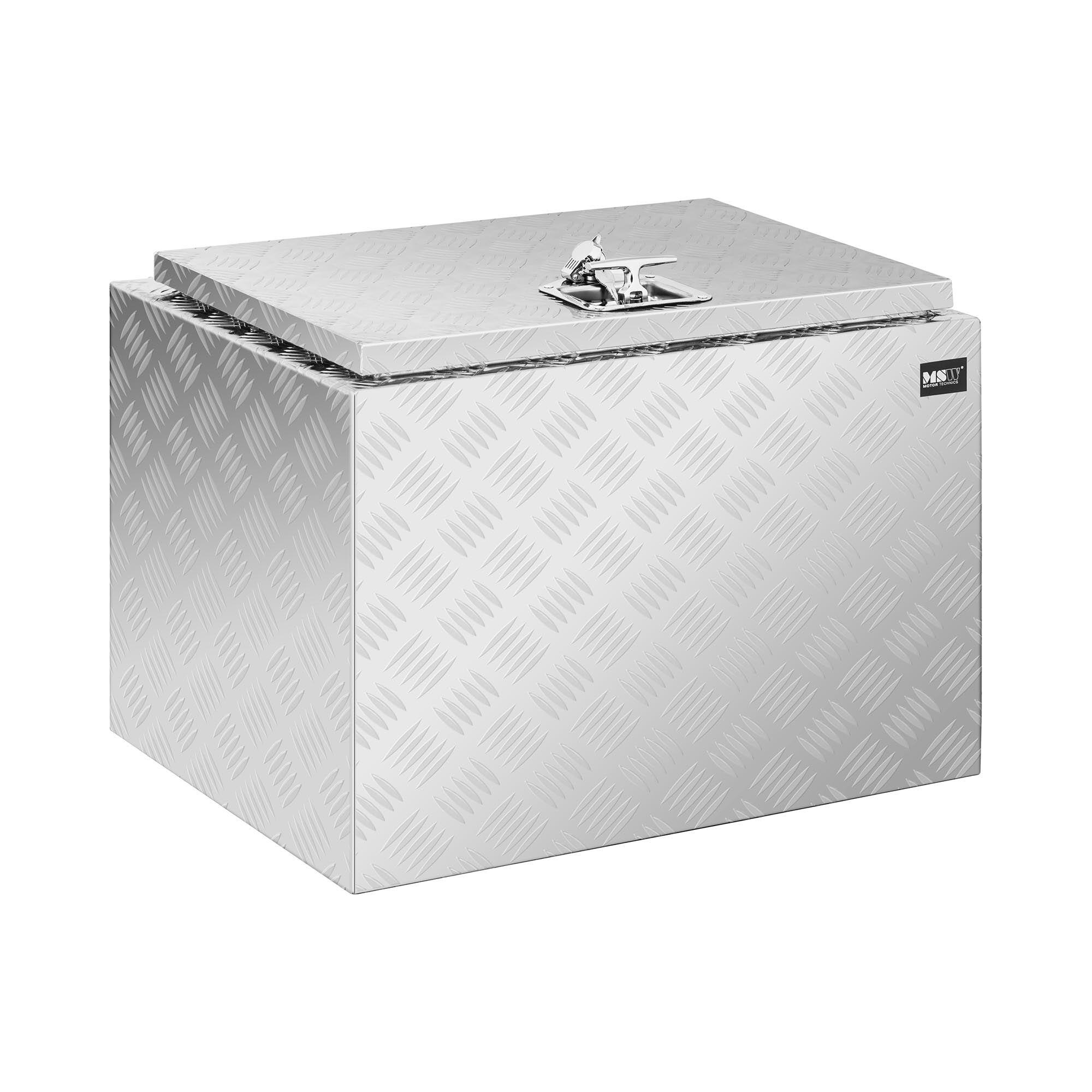 MSW Aluminiumskasse 45 x 60 x 45 cm - 120 L - låsbar 10061216