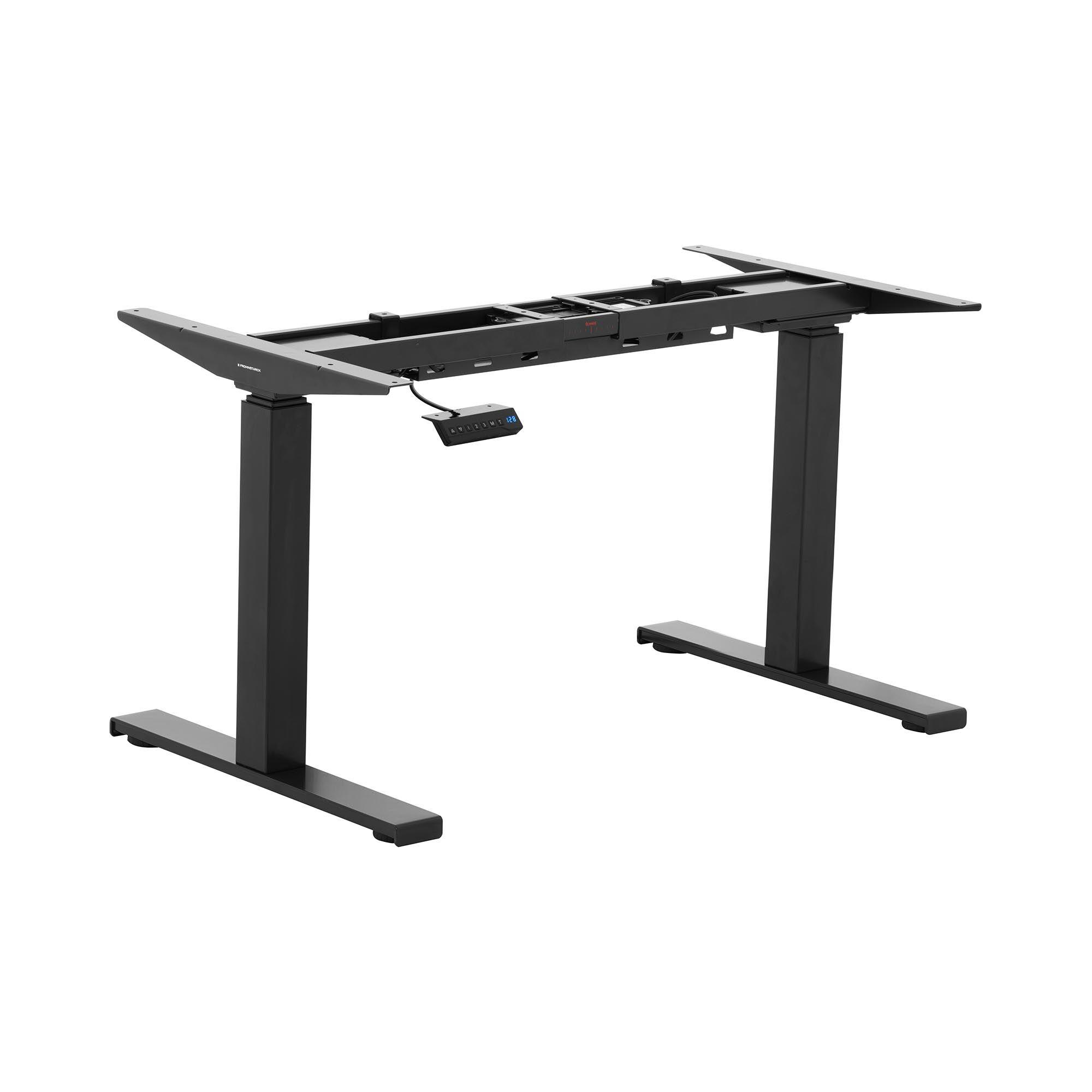 Fromm & Starck Hev-senk understell for skrivebord - elektrisk - 100 kg - sort