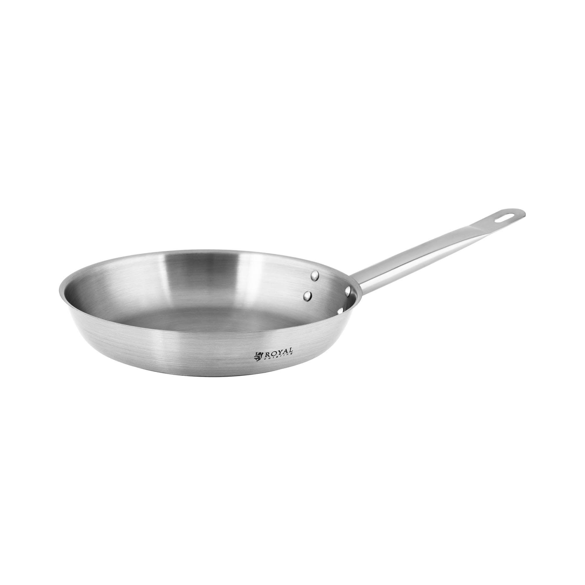 Royal Catering Stekepanne i rustfritt stål - Ø 24 cm 10011205